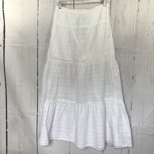 Rubbish from Nordstrom white prairie skirt